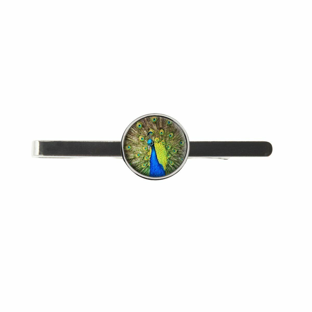 Peacock Bird Mens Tie Slide Ideal Birthday Father Day Gift C95