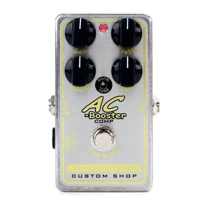 NEW  Xotic Effects AC BOOSTER COMP - AC Booster With Compression Modes Switch