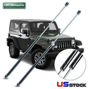 Fit Jeep Wrangler 2000 2001 2002 Rear Window Glass Lift Supports Struts 2pcs