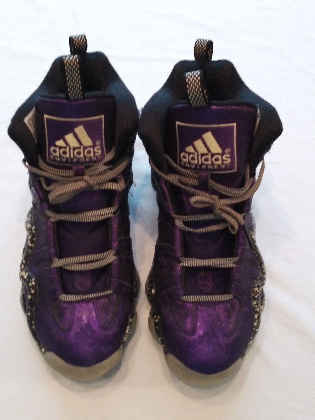 Uomini pazzi adidas 8 scarpe da ginnastica adidas pazzi incubo prima di natale viola 2fdb42