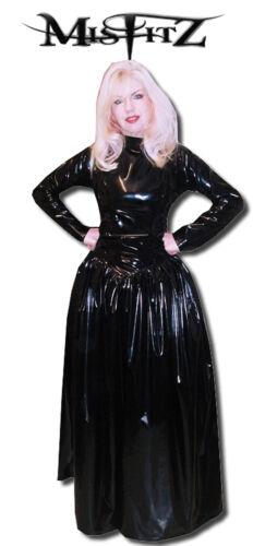 Mistress Taille Gothique Misfitz Tv Ballgown Pvc Commode Fétiche 18 De Black Croix 7IYqqEwB