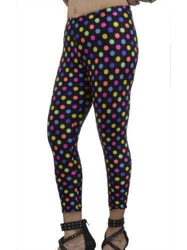 Polka Dots Junior and Junior Plus Sizes Vivian/'s Fashions Long Leggings