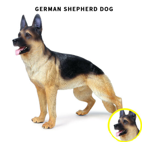 "1//6 Scale German Shepherd Dog Figurine For 12/"" in Action Figures Toy Soldier New"