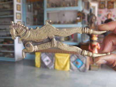 Couple//Pair Engraved Figurine Betel Nut Cutter Brass Handcrafted Man /& Women