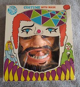 """1968 """"LAND OF THE GIANTS"""" BEN COOPER """"GIANT PROFESSOR"""" HALLOWEEN COSTUME In BOX"""