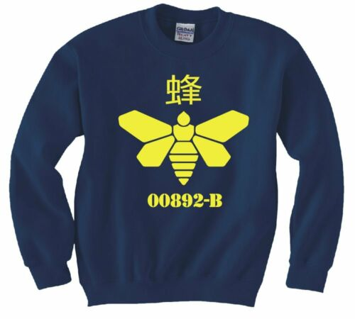 "BREAKING BAD /""GOLDEN MOTH CHEMICAL LOGO/"" SWEATSHIRT NEW"
