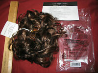 Toni Brattin Claw Clip-on Hair Extension - Lot Of 2 - Brown Pouf -nip