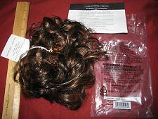 AVON - TONI BRATTIN Claw Clip-on Hair Extension - Brown Pouf -NIP