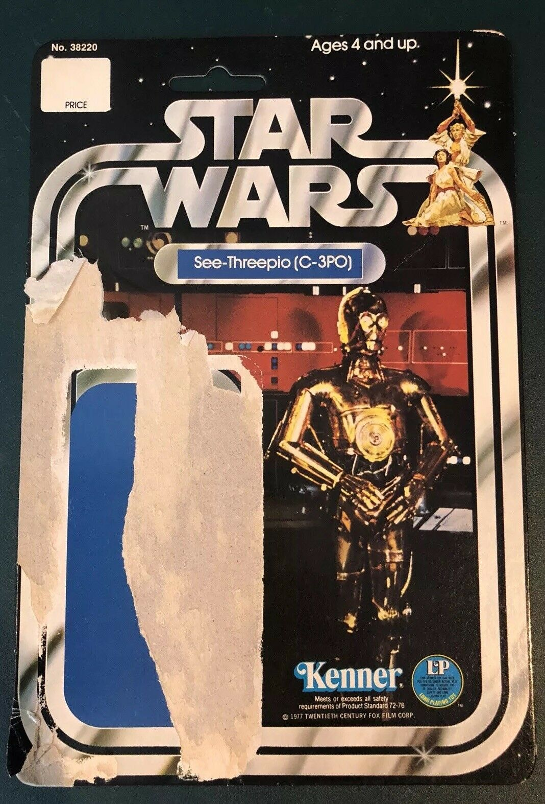 n ° 1 en línea Estrella Wars Kenner Vintage C-3PO ver-compañero, ver-compañero, ver-compañero, Cochetón 1977 12 B Original  tienda de descuento