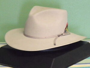 Image is loading STETSON-5X-FUR-FELT-DUNE-PINCH-FRONT-COWBOY- c1714540718