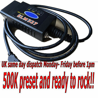 ELM327 USB modified for Ford ELMconfig latest chip HS-CAN / MS-CAN Forscan  OBD2 | eBay