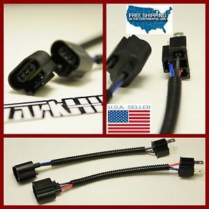 h6054 h4 to 9008 headlight conversion harness wire plugs. Black Bedroom Furniture Sets. Home Design Ideas