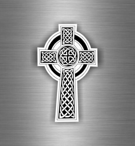 sticker tuning car motorrad celtic cross breton brittany flag has