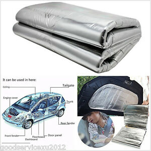 diy 1 car hood turbo exhaust muffler insulation heat. Black Bedroom Furniture Sets. Home Design Ideas