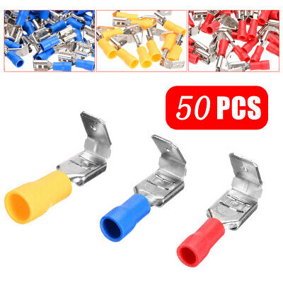 Piggyback Insulated Crimp Spade Useful Terminal Piggy Back Wire Cable Connector
