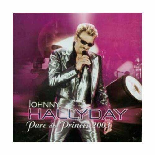 "CD "" Johnny Hallyday Parc des Princes 2003 "" Neu Versiegelt"