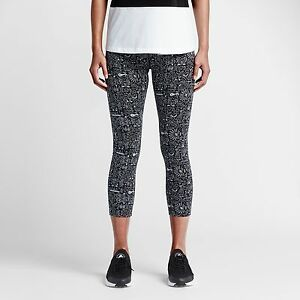 05d76c64a0d37 New Nike Women's Leg-A-See Cropped Printed Leggings (777558-010 ...