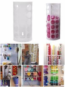 4 PACK X IKEA Wall Mount Plastic Bag Dispenser Home Variety Crafts Yarn Holder
