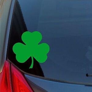 Shamrock-vinyl-sticker-decal-car-truck-locker-Irish-lucky-St-Patrick-039-s-Boston