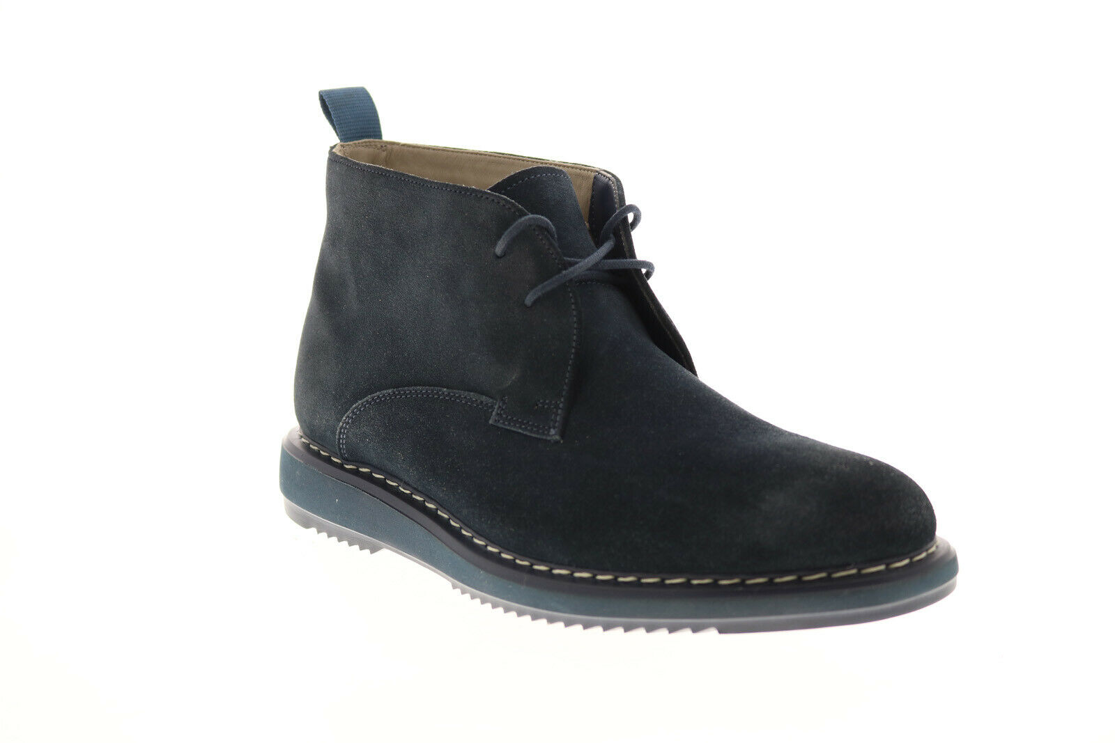Clarks Kenley Suede Chukka 26120697 Mens Blue Suede Lace Up Chukkas Boots