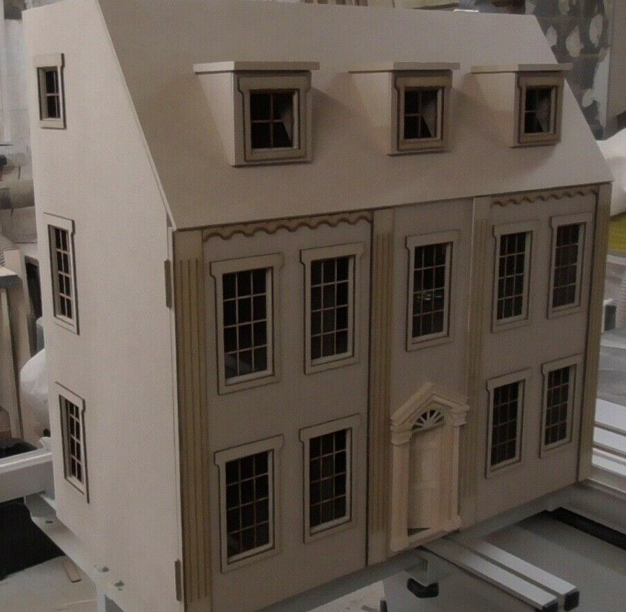 1 12 Dolls House Eaton House 6 rooms 30  Kit by Dolls House Direct