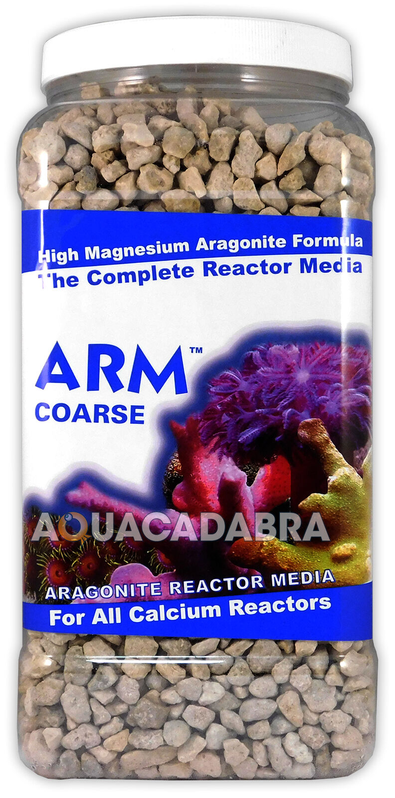 CARIBSEA ARM COARSE REACTOR MEDIA ARAGONITE 1GAL 8LB CALCIUM AQUARIUM FISH TANK