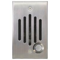 Channel Vision Iu-6302 Intercom Door Station Nickel Iu Speaker Camera