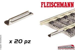 Fleischmann H0 6436 Rail Connection en Métal 20 Pièces Neu