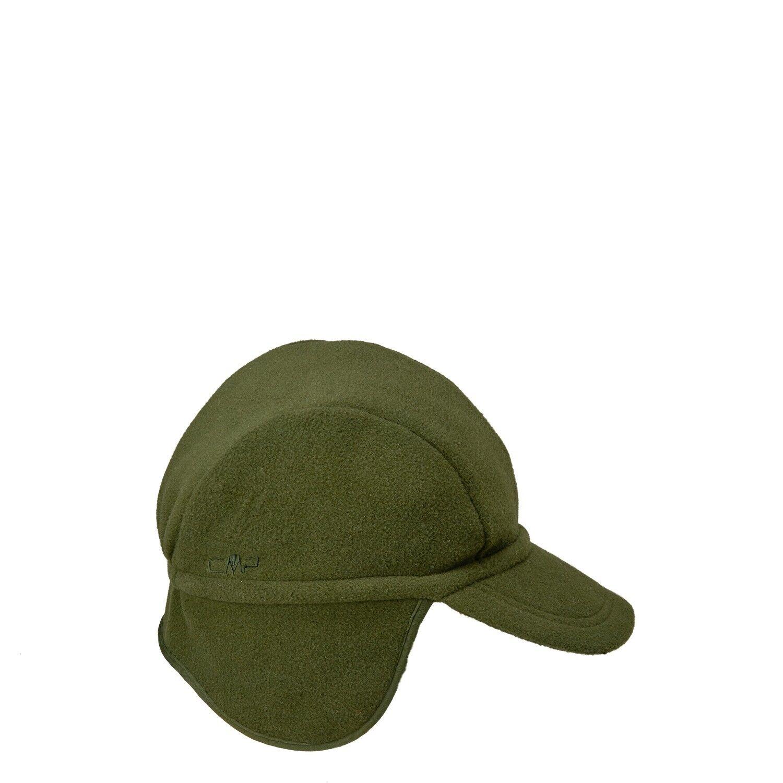 CMP Beanie Wintermütze Fleecemütze grün Dach Ohrenschutz isolierend