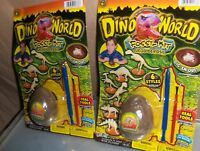 2 Dino World Dinosaur Eggs Fossil Kit Birthday Party Carnival Favors