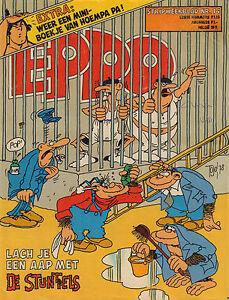 STRIPWEEKBLAD-EPPO-1978-nr-14-DE-STUNTELS-COVER-MINI-BOEKJE-HOEMPA-PA