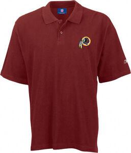ade27b98f Washington Redskins polo shirt Reebok NWT NFL Skins Football new NFC ...