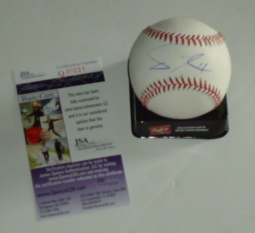 Yu Darvish Signé OML Baseball (Chicago Cubs ) JSA ~Q30221