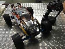 Traxxas Rustler VXL Brushless RTR 1/10 Truck w/ Tons Of Upgrades Hobbywing Used