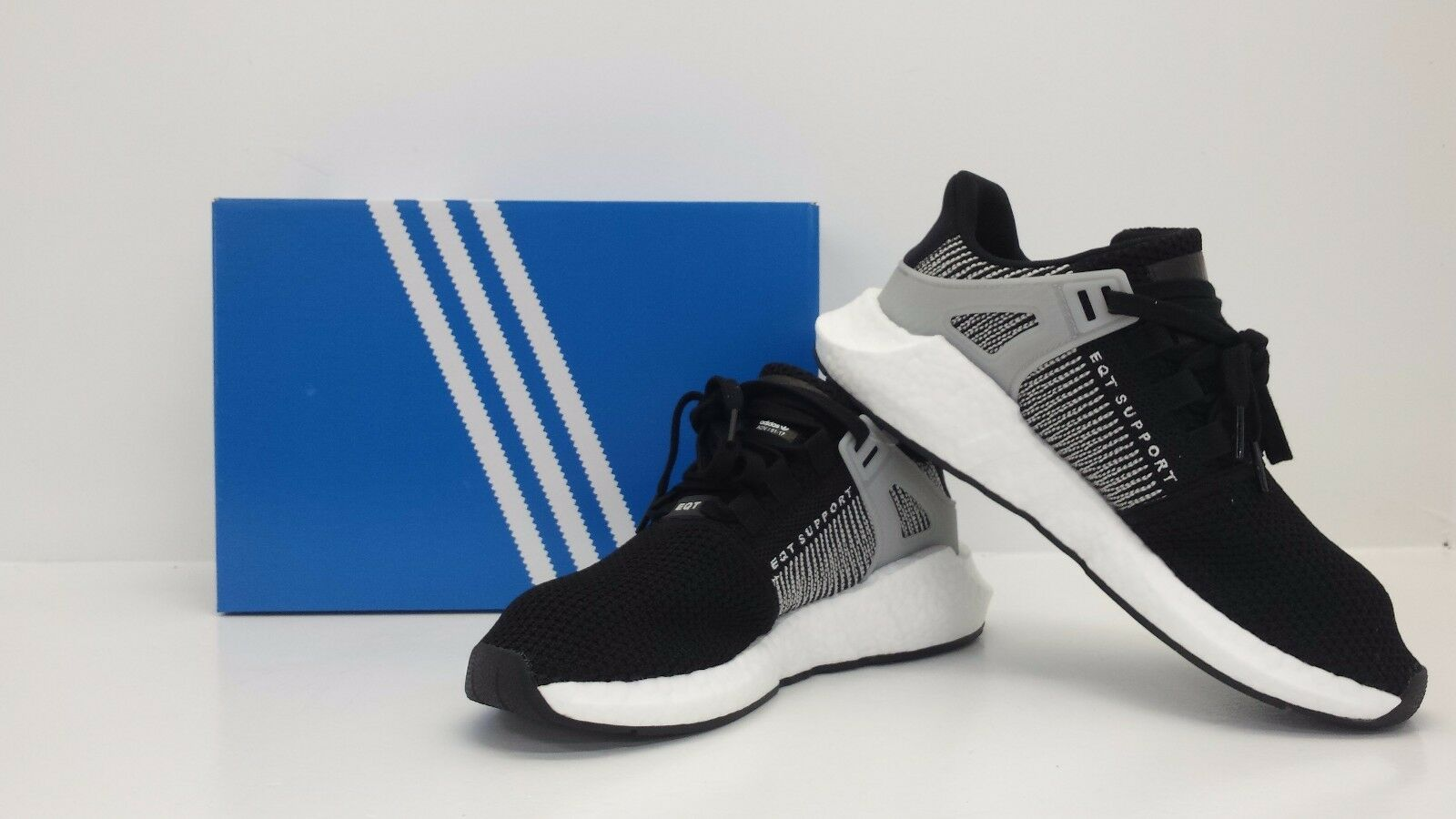 Adidas ORIGINALS MEN'S BY9509 EQT SUPPORT 93/17 BLACK/WHITE BY9509 MEN'S - BRAND NEW IN BOX e29d51