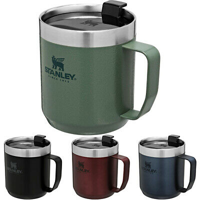 Stanley Classic 12 oz. Vacuum Insulated Stainless Steel Legendary Camp Mug