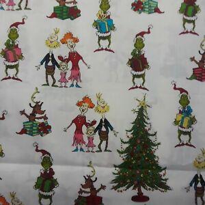 How-The-Grinch-Stole-Christmas-fabric-Doctor-Seuss-Robert-Kaufman-sold-per-yard