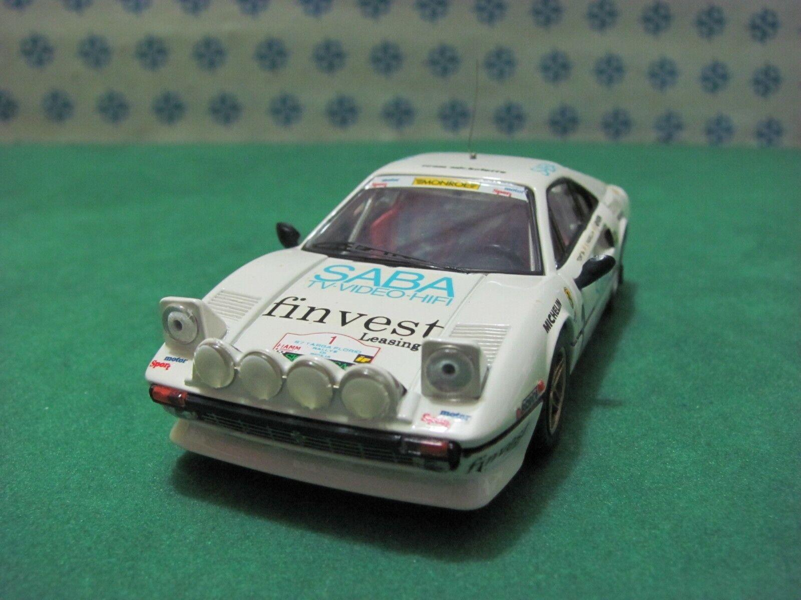 FERRARI 308 GTB 3000cc. coupè   Targa Florio  1983    - 1 43 Best 9211