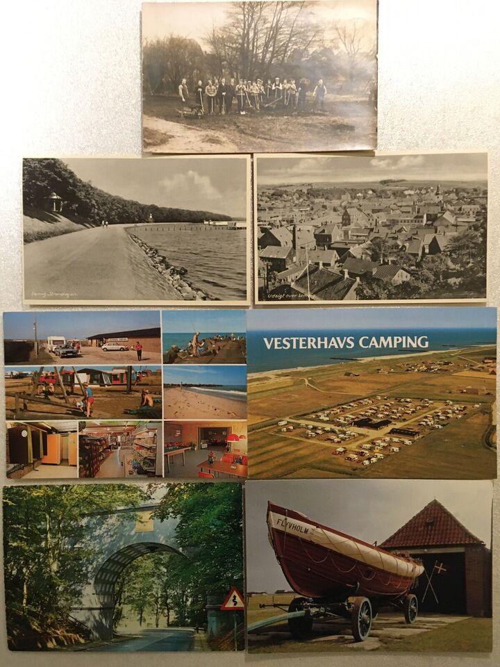 Postkort, Lemvig, Flyvholm