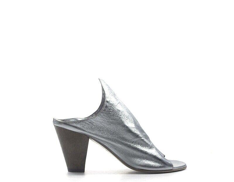 Skor Rebecca van charm kvinna kvinna kvinna grå naturligt läder Z069 -cr  otroliga rabatter