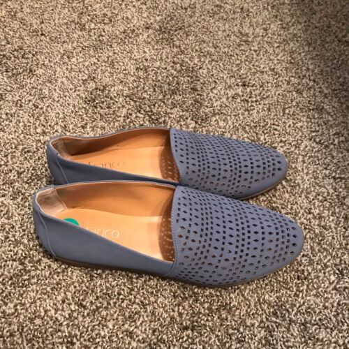 Perforated Taglia Loafer Franco 8 Womens Nuovo Blue Sarto wq6BnxR