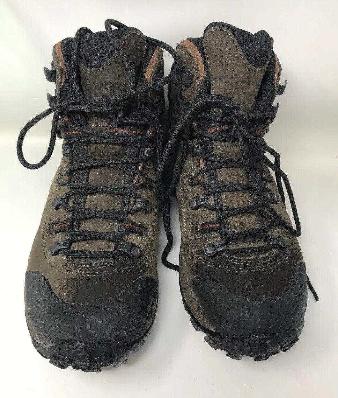 donna Merrell Phaser Peak Waterproof Vibram Sole Hiking Trail avvio 7.5 EU 38