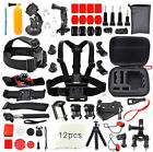 For GoPro Go pro Hero 5 Accessories Set Kit  Black/Silver Hero 4/3+/3/2 1