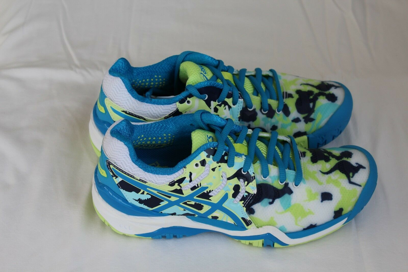 ASICS GEL-RESOLUTION 7 L.E. MELBOURNE TRAINERS UK 4-9