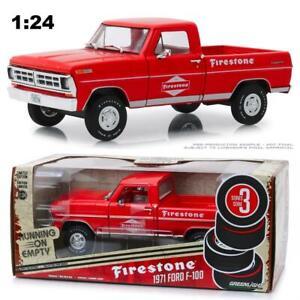 GREENLIGHT-85043-1971-FORD-F-100-FIRESTONE-PICKUP-TRUCK-DIECAST-MODEL-1-24