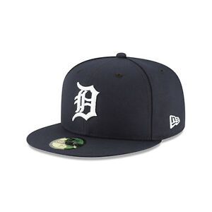 huge selection of 6081a 4ee4a Image is loading New-Era-MLB-Detroit-Tigers-Home-Authentic-Collection-