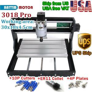 CNC3018 DIY Mini GRBL Control Laser Machine PCH PVC Milling Wood Router 500mW CE