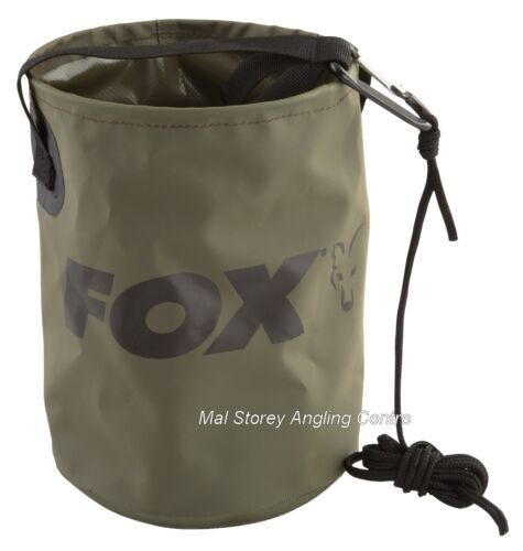 Clip Fox Collapsible Water Bucket inc Rope
