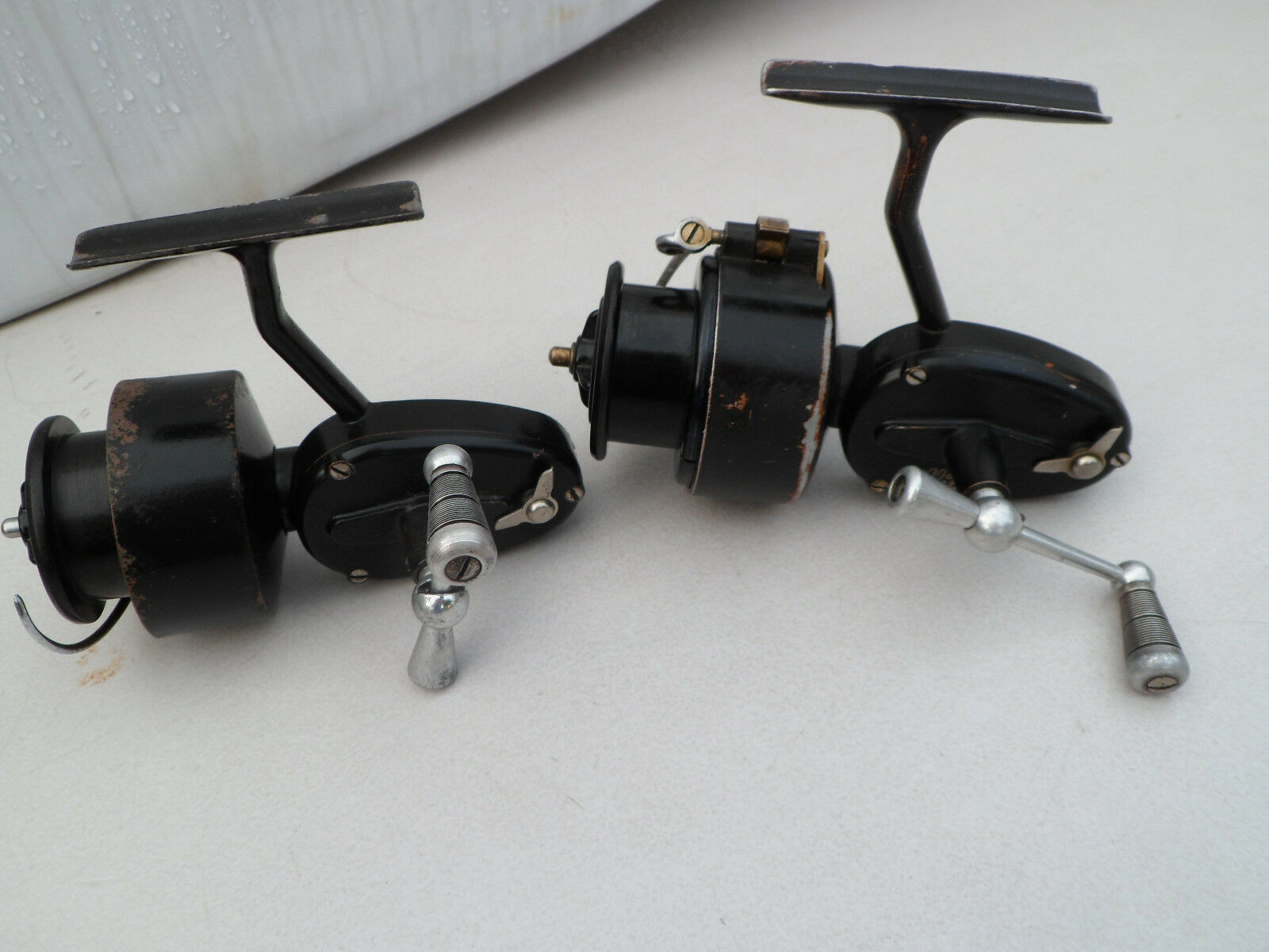 Vintage Mitchell 300 half bail spinning fishing reels