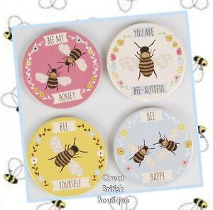 Bee-autiful-Sass-amp-Belle-Bee-Ceramic-Coasters-Set